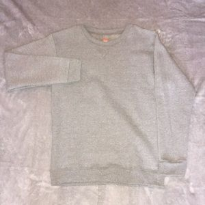 Grey New Boys Crewneck Sweatshirt